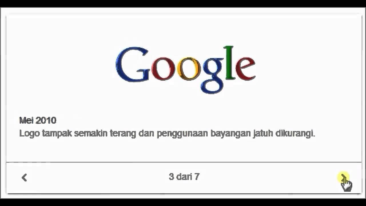Riwayat Logo Google - YouTube