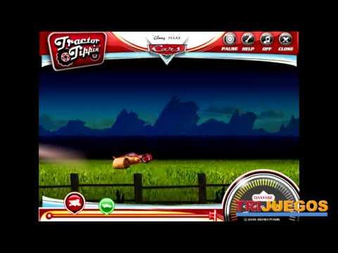 Juegos De Cars  Tractor Tipping