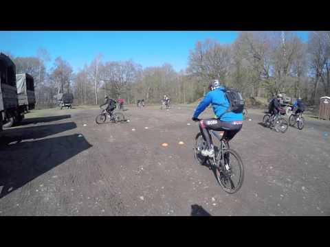 20160409 S2B Les 2 oefening bochten leren rijden deel 2