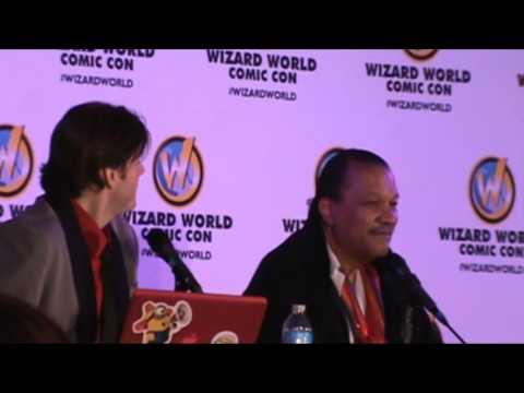 Wizard World Sacramento Comic Con 2014 Lando Calrissian Wearing