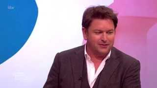 James Martin Sits Down With The Loose Women   Loose Women