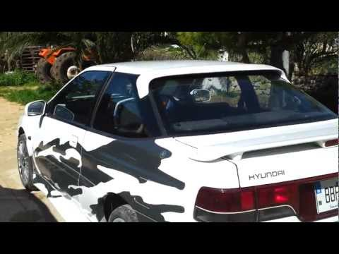 Hyundai Scoupe GT Turbo & Ford Escort mk6 18TDI