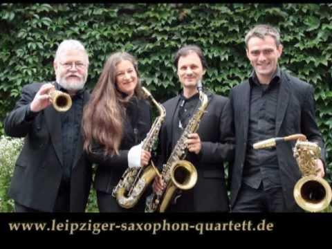 Leipziger Saxophon Quartett: Quartette de Concert by Caryl Florio