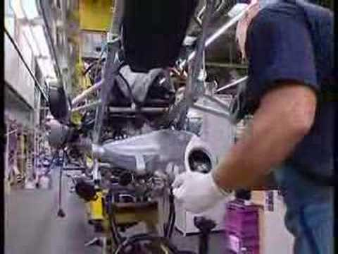 bmw motorcycle production at berlin plant - youtube