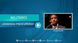 Guaidó: Si yo fuese el Alto Mando estaría preocupado