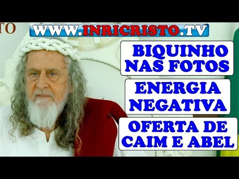 INRICRISTO.TV 04/05/2019 - ENERGIA, FAZER BIQUINHO, ENERGIA NEGATIVA, RIQUEZA, OFERTA DE CAIM E ABEL