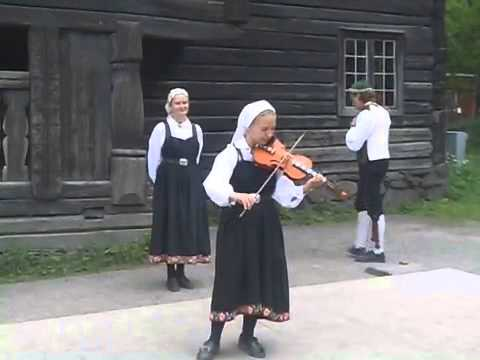 Traditional Norwegian Music - The Hardanger Fiddle