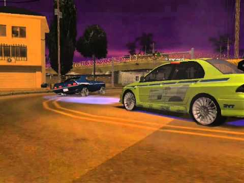GTA 2Fast 2Furious Muscle Race