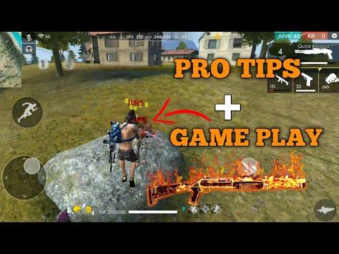FREE FIRE | RANK PRO TIPS AND TRICKS 17 KILL FREE FIRE | KILL FULL SQUAD WITH M1014