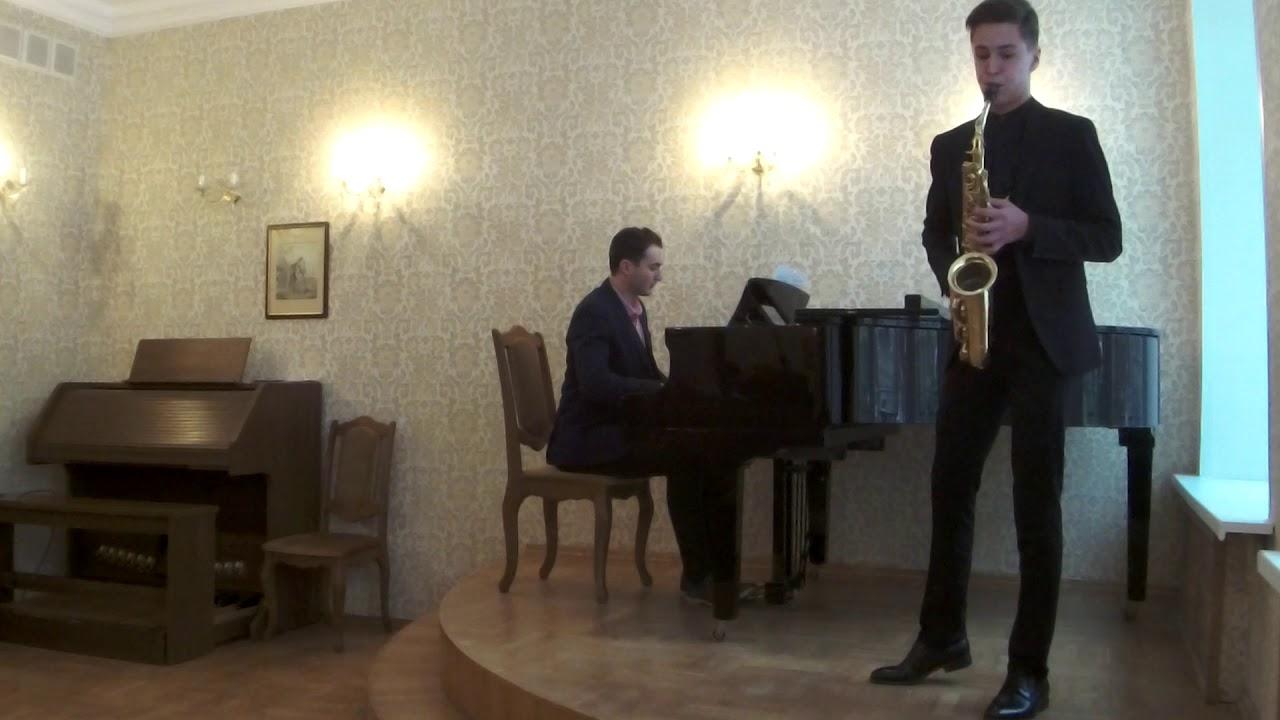 Mikhail Kazakov - Lars-Erik Larsson: Saxophone concerto, 2 part