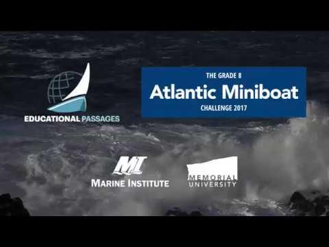 Marine Institute - Educational Passages Miniboat Challenge