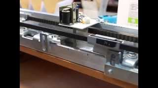 видео Ремонт раздвижных дверей и автоматики