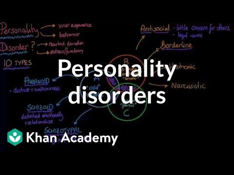 Personality disorders | Behavior | MCAT |...