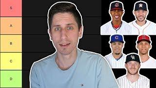 MLB SHORTSTOP RANKING TIER LIST