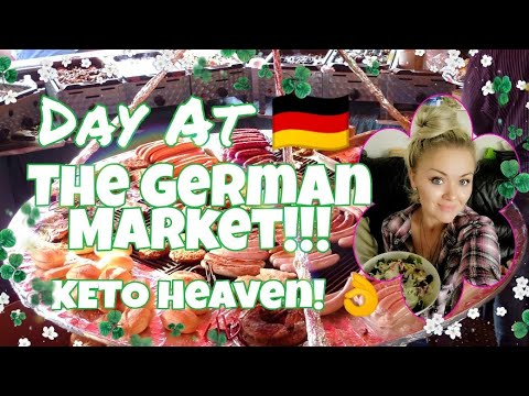 🇩🇪 Day At The German Market - Organic Keto Food Heaven! Shopping & More!  Bio Markt Deutschland