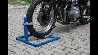 Cavalletto blocca ruota (wheel lock stand)