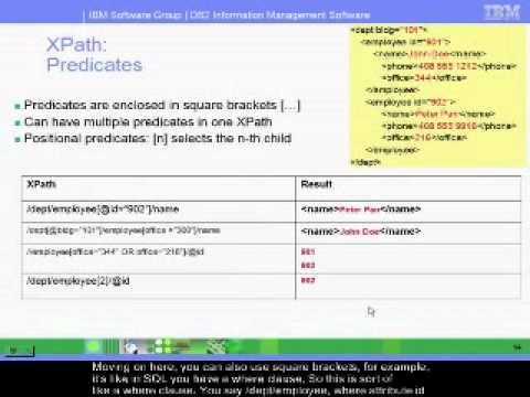 Chapter 11(3) - Introduction to XPath and XQuery