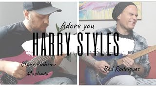 Adore You (Harry Styles) - Guitar version by Rod Rodrigues - Feat. Bruno Pinheiro Machado