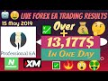 💹 Profitable Forex EA Live Robot Trading Results +13,177$ In 1 Day!!!🤑 | Professional EA