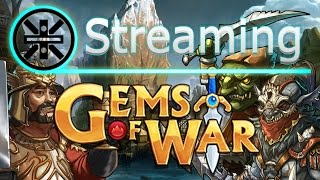 Hello everyone! Welcome to the Gems of War gaming live stream. If y...