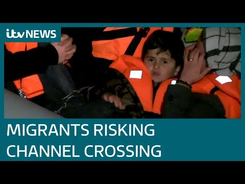 Children among migrants rescued from Channel | ITV News