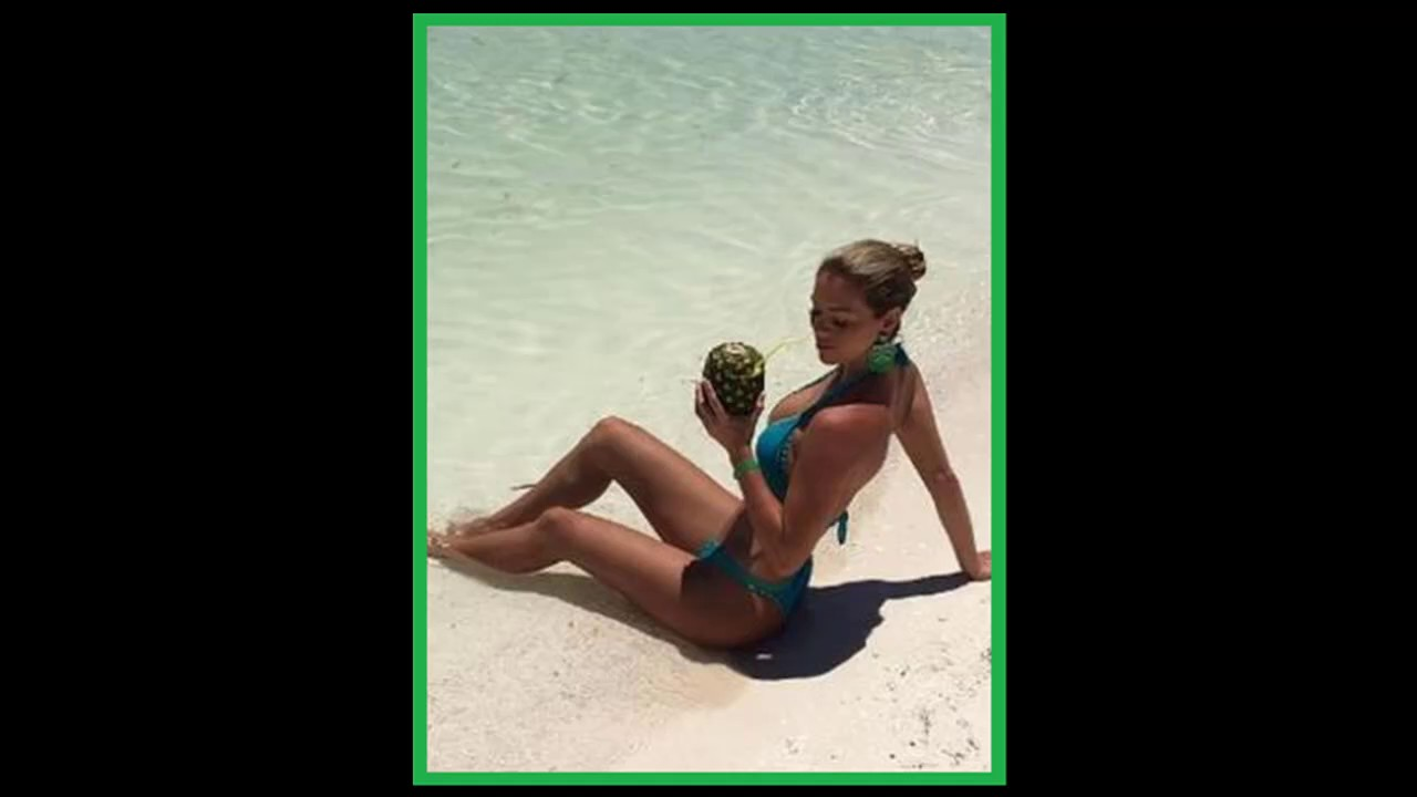 13c9f3c8fe4d Sheyla Rojas mostró el totó por sus vacaciones en la playa - YouTube