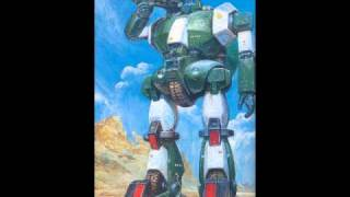 The Walker Galliar track from the Combat Mecha Xabungle OST.