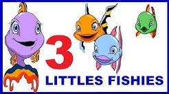 3 LITTLE FISHIES - nursery rhymes -  WAKE UP