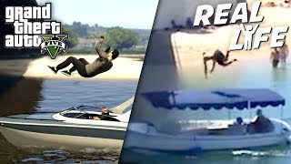 GTA 5 VS REAL LIFE 12 ! (fun, fail, stunt, ...)