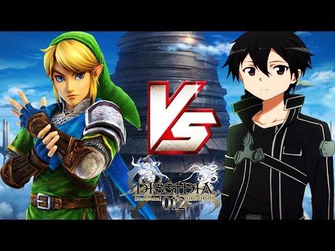 【LINK VS KIRITO!】- Dissidia 012 MODS