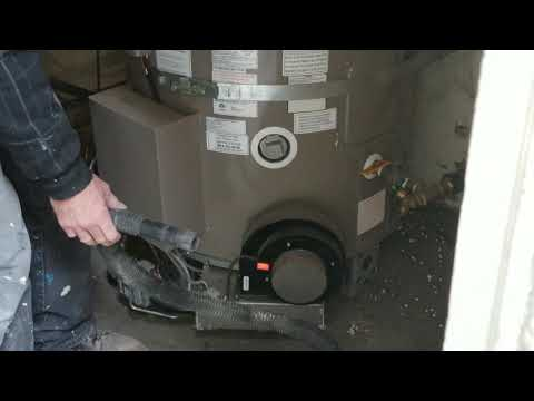 2718 water heater. how to clean the filter