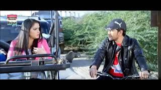 Best romantic race scenes | Nirahua Chalal Sasural 2 | Nirahua, Amrapali