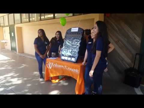 Porterville High PAB TCFCU Branch Reopening