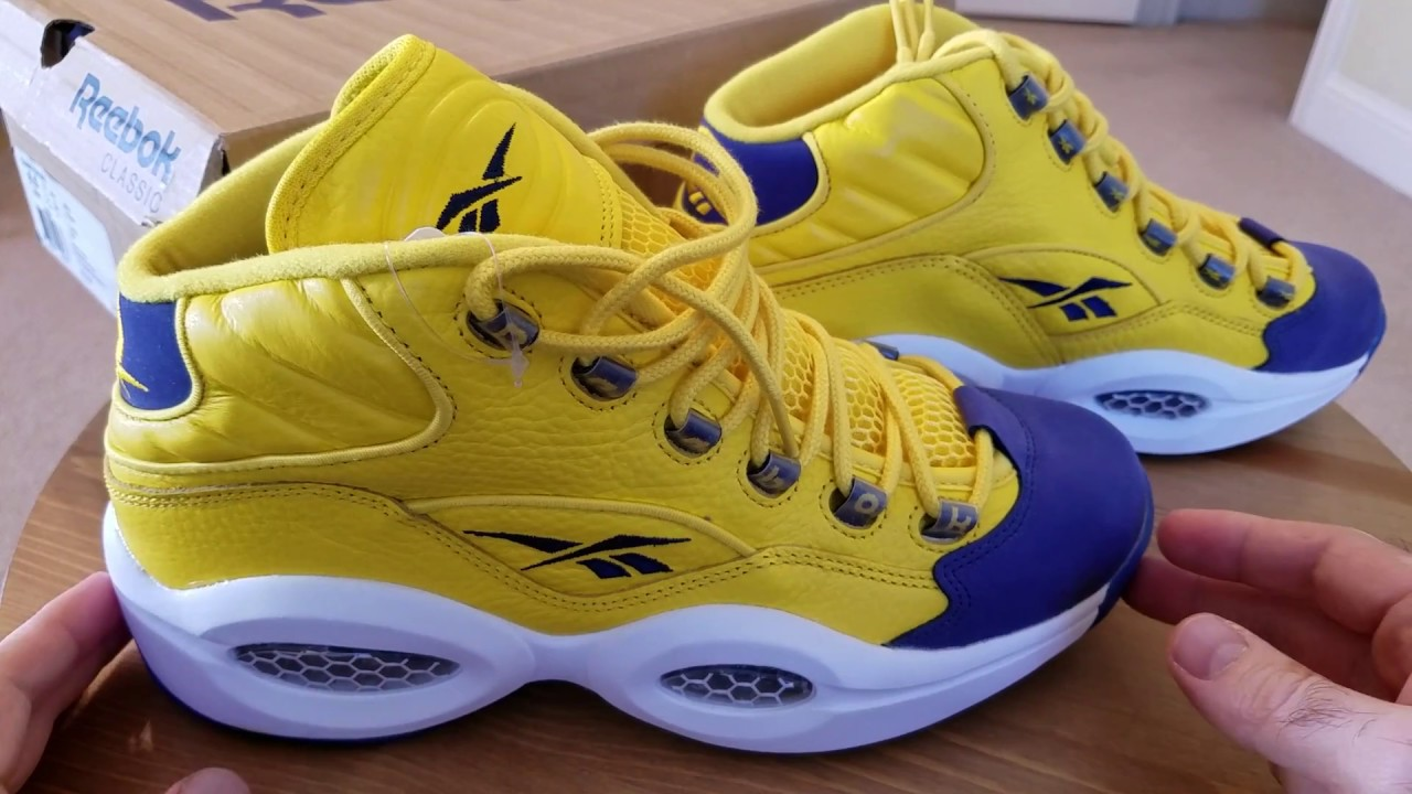 Reebok Question All Star Retro - YouTube feb4e43a5