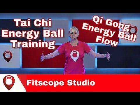 Tai Chi Energy Ball Training for Beginners | Qi Gong Energy Ball Flow | Fitscope Studio