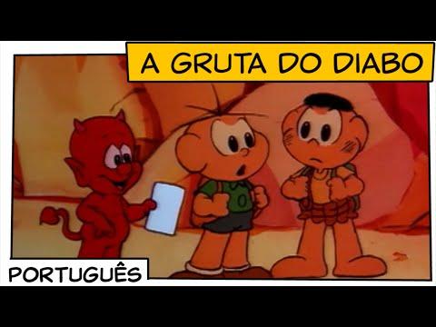 A gruta do diabo (1987)   Turma da Mônica