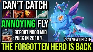 The Forgotten Hero is Back in New Patch 7.20 - Puck NoBody Can Catch This Annoying Fly 22Kill Dota 2