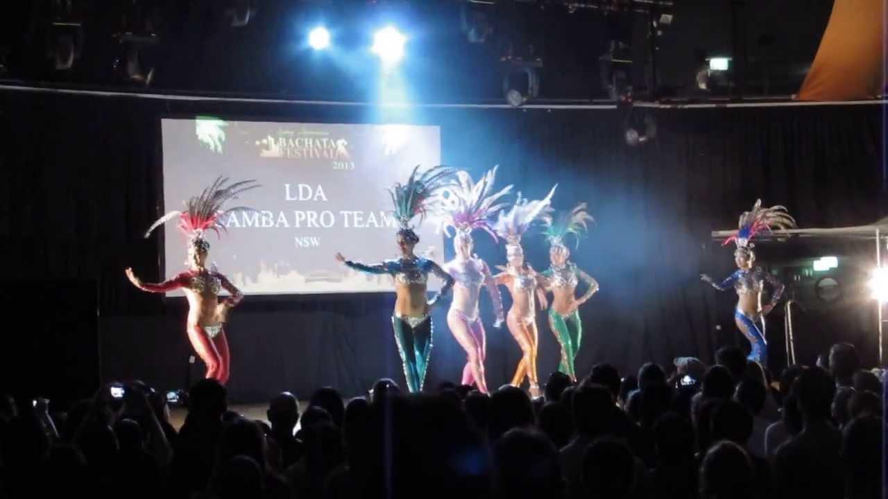 SIBF 2013 Saturday - LDA Samba Pro Team