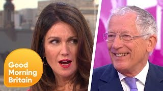 Nick Hewer Invites Susanna Onto Countdown | Good Morning Britain