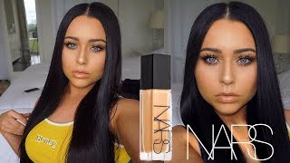 NARS Natural Radiant Foundation Review + Wear Test