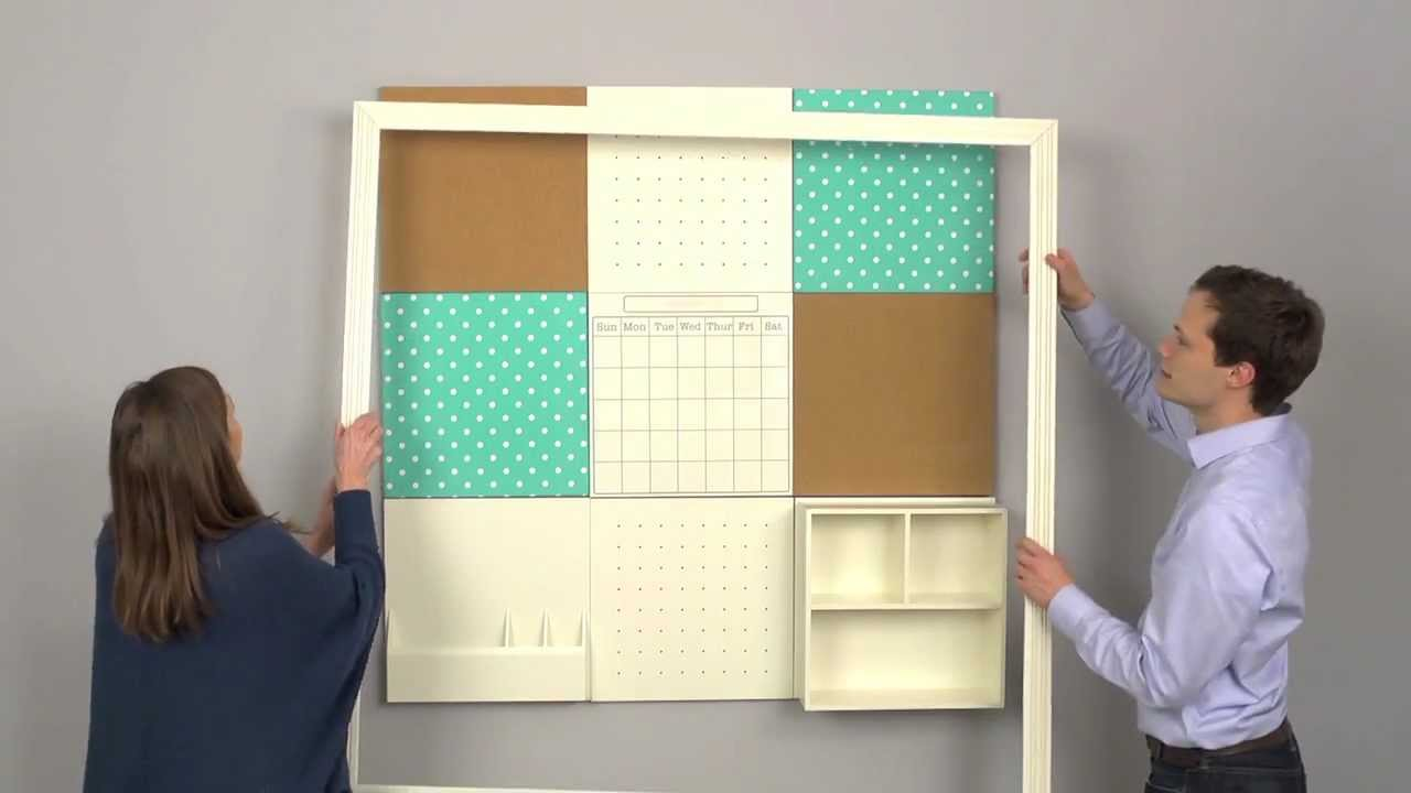 How to install teen wall decor with ease pbteen youtube for Teen wall decor
