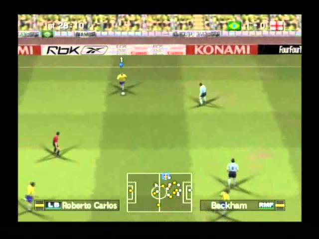 Pro Evolution Soccer 6 Playstation 2 Youtube