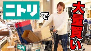 【総額20万円】新居の家具をニトリで大量買いしてきたぞー!