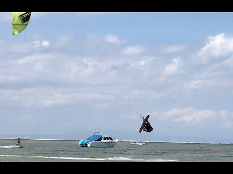 KITE SURFING SANUR BEACH BALI