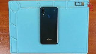 VIVO Y11 //РАЗБОР смартфона ОБЗОР изнутри