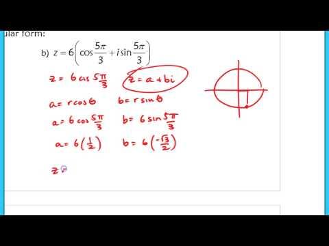 10.8 (Part 1) DeMoivre's Theorem