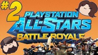 PlayStation All-Stars Battle Royale: Super Super - PART 2 - Game Grumps VS