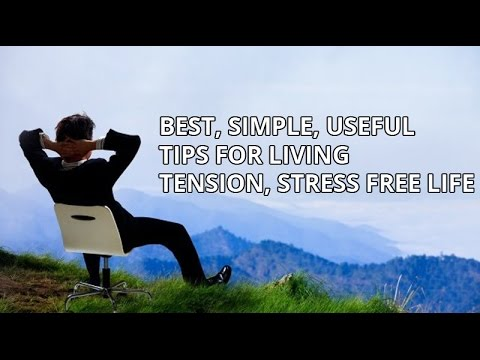 how to become tension free
