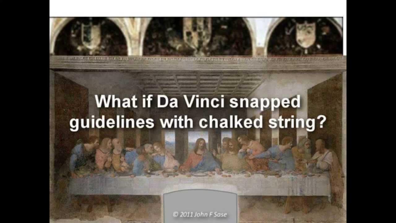 The Last Supper: Da Vinci's Geometric Secrets of ... Da Vinci Paintings Hidden Messages
