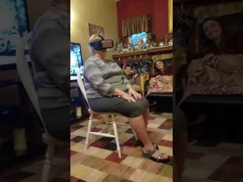 VR Roller Coaster Grandma